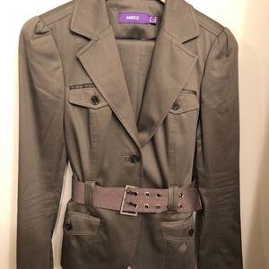 Ladies Mexx Suit belted EUC